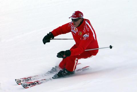 Michael Schumacher - Madonna Di Campiglio - 12-01-2006 - Michael Schumacher uscito dal coma indotto