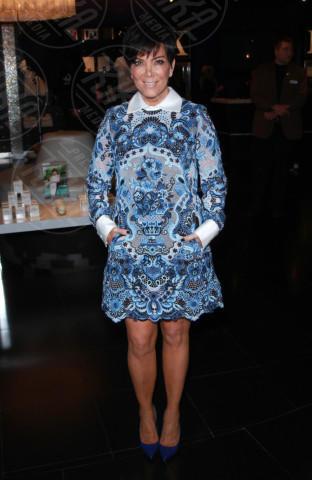 Kris Jenner - Las Vegas - 26-10-2013 - Blue China Print: siamo tutte bambole di porcellana!