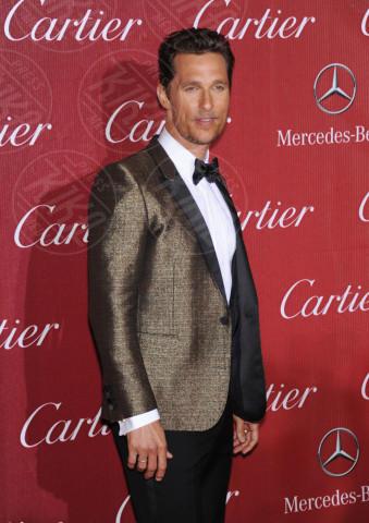 Matthew McConaughey - Palm Springs - 04-01-2014 - Matthew McConaughey, a ogni evento il suo colore