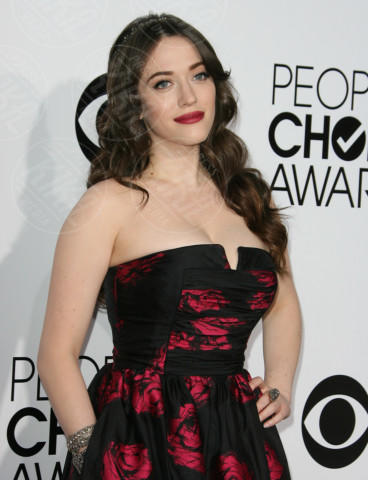 Kat Dennings - Los Angeles - 09-01-2014 - People's Choice Awards 2014: le acconciature