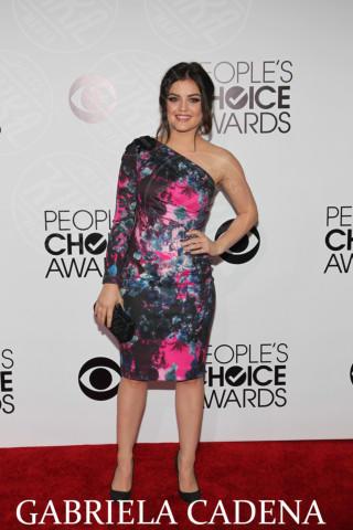 Lucy Hale - Los Angeles - 08-01-2014 - People's Choice Awards 2014: gli stilisti sul red carpet