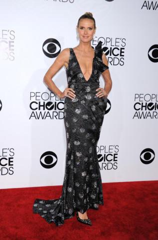 Heidi Klum - Los Angeles - 07-01-2014 - People's Choice Awards 2014: gli stilisti sul red carpet