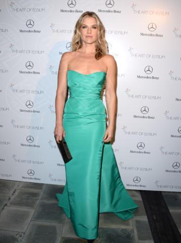 Ali Larter - Los Angeles - 11-01-2014 - Verde acqua, turchese, azzurro Tiffany: i colori dell'estate