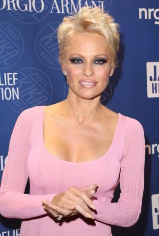 Pamela Anderson - Los Angeles - 11-01-2014 - Pamela Anderson, compie 50 anni la bagnina più sexy del mondo