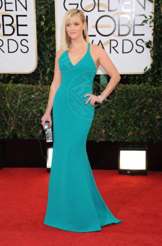Reese Witherspoon - Beverly Hills - 13-01-2014 - Verde acqua, turchese, azzurro Tiffany: i colori dell'estate