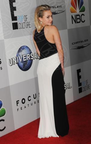 Hayden Panettiere - Beverly Hills - 12-01-2014 - Bianco e nero: un classico sul tappeto rosso!