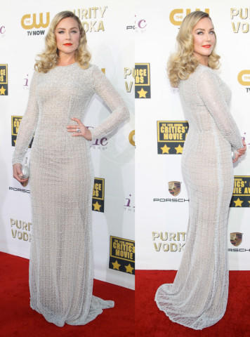 Elisabeth Rohm - Los Angeles - 17-01-2014 - Vade retro abito! Le scelte ai Critic's Choice Awards