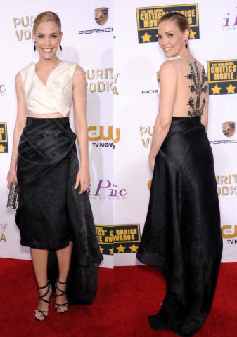 Leslie Bibb - Los Angeles - 17-01-2014 - Vade retro abito! Le scelte ai Critic's Choice Awards