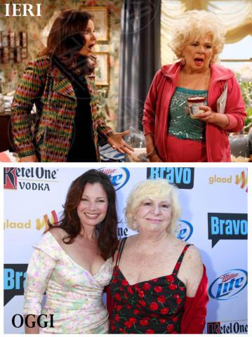 La Tata, Renee Taylor, Fran Drescher - 17-01-2014 - Gli attori della Tata festeggiano i 21 anni della serie