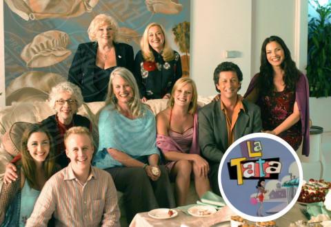 La Tata - 17-01-2014 - Gli attori della Tata festeggiano i 21 anni della serie