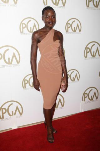 Lupita Nyong'o - Beverly Hills - 19-01-2014 - Lupita Nyong'O: i migliori look dell'attrice keniota