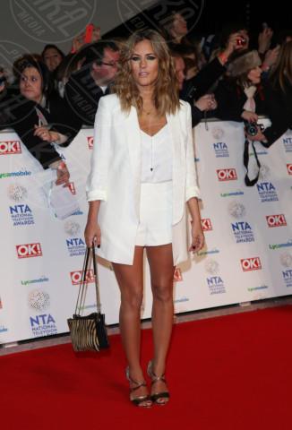 Caroline Flack - Londra - 22-01-2014 - Jennifer Lopez e le altre, sexy in shorts in barba al freddo