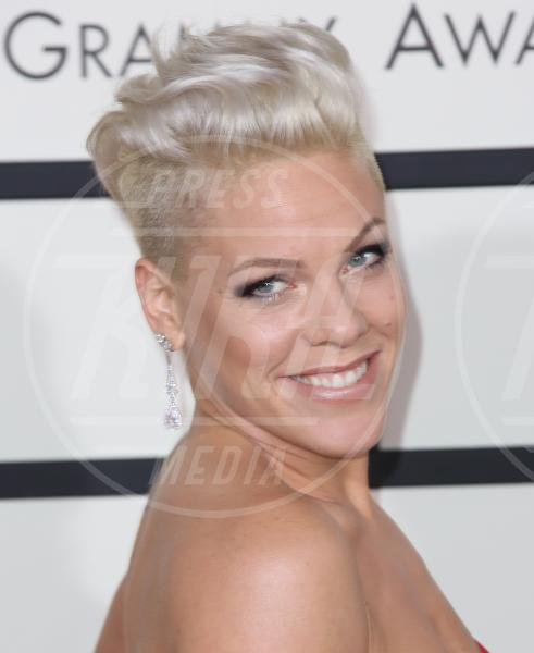 Pink - Los Angeles - 26-01-2014 - Grammy Awards 2014: le acconciature delle dive