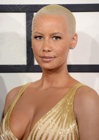 Amber Rose - 26-01-2014 - Grammy Awards 2014: le acconciature delle dive
