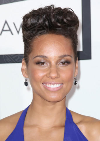 Alicia Keys - Los Angeles - 26-01-2014 - Grammy Awards 2014: le acconciature delle dive