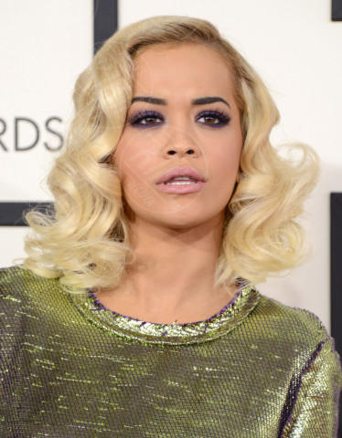 Rita Ora - 26-01-2014 - Grammy Awards 2014: le acconciature delle dive
