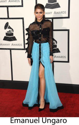 Zendaya Coleman - Los Angeles - 26-01-2014 - Grammy Awards 2014: gli stilisti sul red carpet