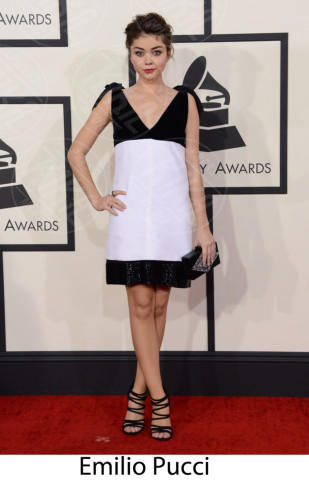 Sarah Hyland - 26-01-2014 - Grammy Awards 2014: gli stilisti sul red carpet