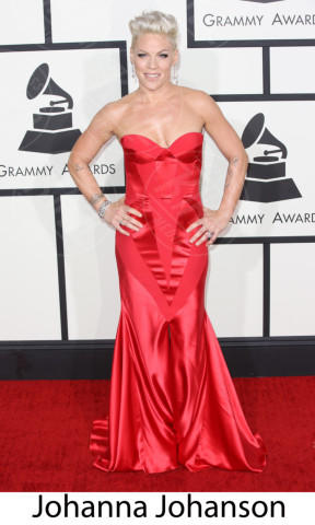 Pink - Los Angeles - 26-01-2014 - Grammy Awards 2014: gli stilisti sul red carpet