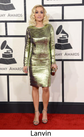 Rita Ora - 26-01-2014 - Grammy Awards 2014: gli stilisti sul red carpet