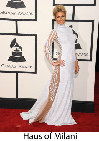 Paris Hilton - Los Angeles - 26-01-2014 - Grammy Awards 2014: gli stilisti sul red carpet