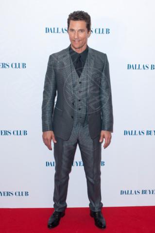 Matthew McConaughey - Londra - 29-01-2014 - Matthew McConaughey, a ogni evento il suo colore