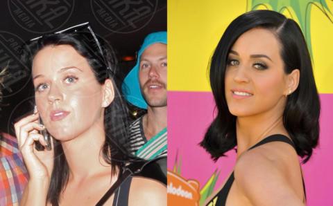 Katy Perry - Quando il trucco non c'è… si vede eccome!