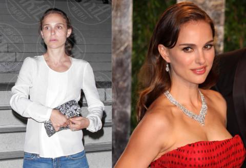 Natalie Portman - Los Angeles - 12-08-2012 - Quando il trucco non c'è… si vede eccome!