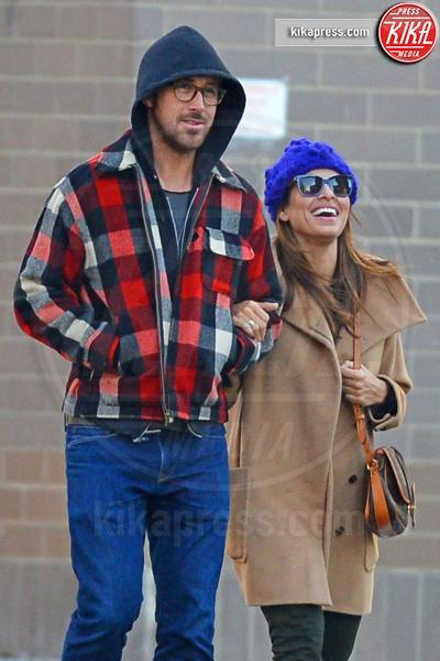 Ryan Gosling, Eva Mendes - New York - 22-11-2012 - Mendes-Gosling: ecco il nome della primogenita