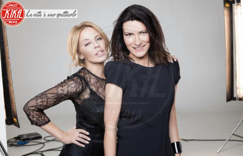 Laura Pausini, Kylie Minogue - 04-02-2014 - Sanremo 2016: Il ritorno di Laura Pausini. Che cambiamento!