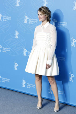 Melanie Laurent - Berlino - 12-02-2014 - Primavera bon ton: tutte preppy-chic con il colletto