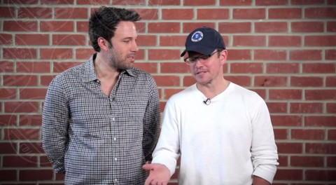 Matt Damon, Ben Affleck - Los Angeles - 13-02-2014 - Matt Damon e Ben Affleck produrranno un reality show