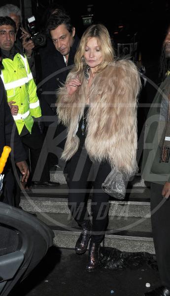 Kate Moss - Londra - 18-02-2014 - Kate Moss, non è tutto nero quel che indossa…