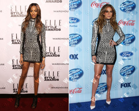 Jourdan Dunn, Jennifer Lopez - 19-02-2014 - Jennifer Lopez e Jourdan Dunn: chi lo indossa meglio?