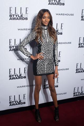 Jourdan Dunn - Londra - 18-02-2014 - Jennifer Lopez e Jourdan Dunn: chi lo indossa meglio?
