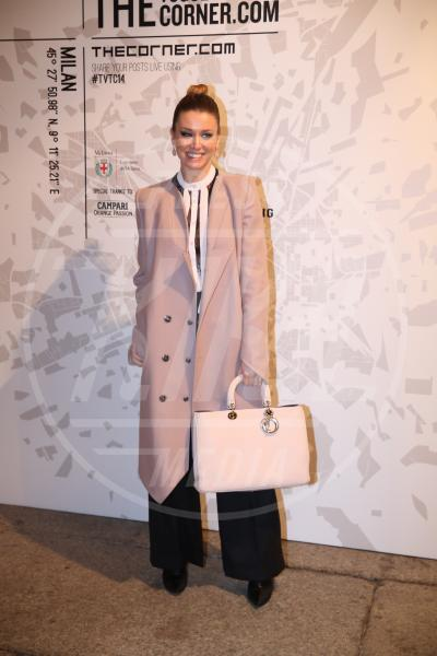 Elena Barolo - Milano - 19-02-2014 - L'inverno è più romantico con il cappotto rosa!