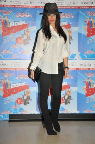 Alessia Reato - Milano - 20-02-2014 - Camicia bianca e pantaloni neri: dal casual al red carpet