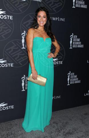 Angelique Cabral - Beverly Hills - 22-02-2014 - Verde acqua, turchese, azzurro Tiffany: i colori dell'estate