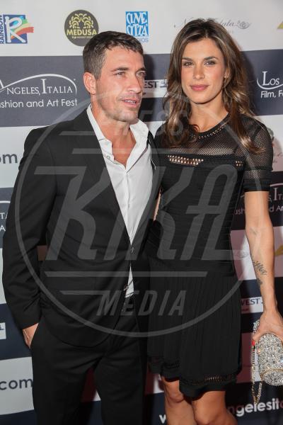 Brian Perri, Elisabetta Canalis - Los Angeles - 24-02-2014 - Elisabetta Canalis: imbronciata per le nozze annullate