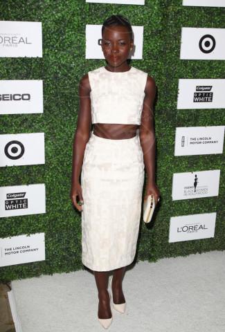 Lupita Nyong'o - Beverly Hills - 27-02-2014 - Top Crop & company: pancini al vento sul red carpet