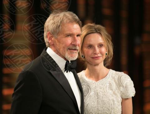 Harrison Ford, Calista Flockhart - Los Angeles - 02-03-2014 - Supergirl: Calista Flockhart sarà anche nella seconda stagione