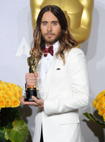 Jared Leto - Hollywood - 03-03-2014 - Jovanotti cambia look nel nuovo video. E prima di lui?