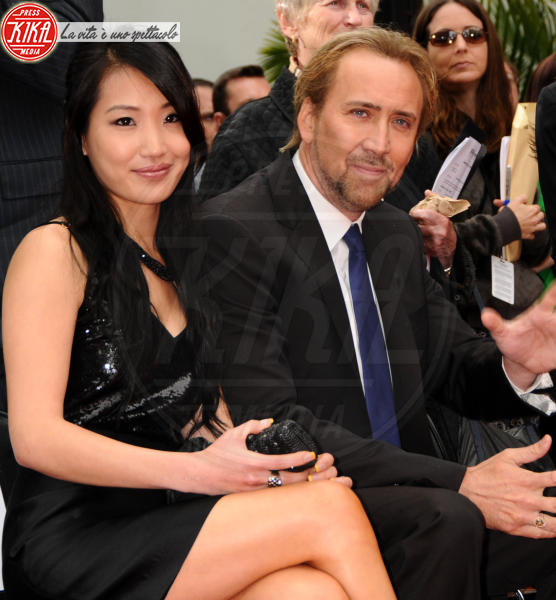 Alice Kim, Nicolas Cage - Hollywood - 17-05-2010 - Nicolas Cage diventa nonno a cinquant'anni