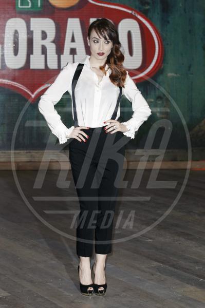 Chiara Francini - Milano - 17-03-2014 - Camicia bianca e pantaloni neri: dal casual al red carpet