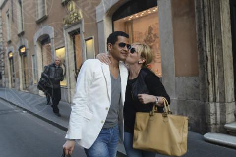 Eddy Martens, Antonella Clerici - Roma - 17-03-2014 - L'amore dà sempre una seconda possibilità