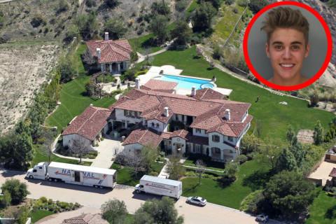 Trasloco, Justin Bieber - Los Angeles - 19-03-2014 - Justin Bieber ha proprio fatto una frittata