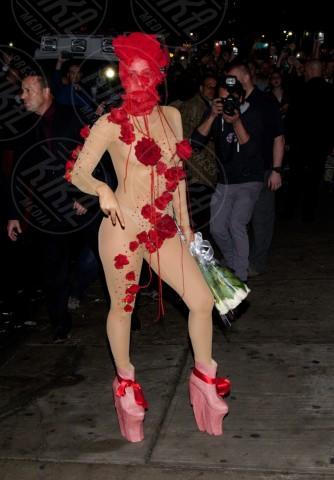 Lady Gaga - New York - 29-03-2014 - Sotto il vestito… niente! Ma proprio niente!