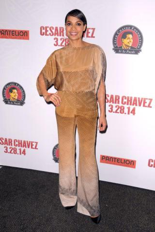 Rosario Dawson - Manhattan - 18-03-2014 - La tuta glam-chic conquista le celebrity