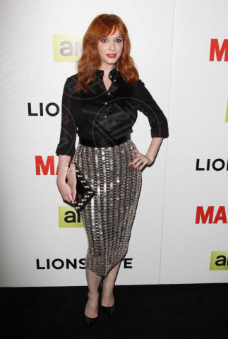 Christina Hendricks - Hollywood - 02-04-2014 - Kim Kardashian e Christina Hendricks: chi lo indossa meglio?