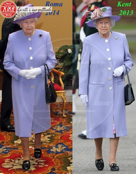 Regina Elisabetta II - 04-04-2014 - Elisabetta II, viola che vince non si cambia!